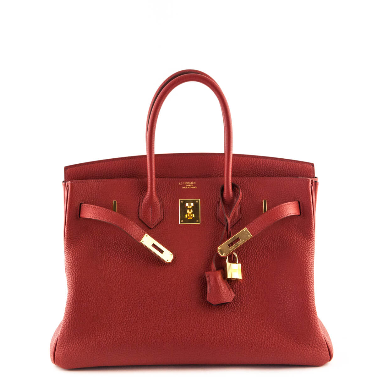 ... Hermes Red Togo Birkin 35 - LOVE that BAG - Preowned Authentic Designer  Handbags ... db58aaa1602c