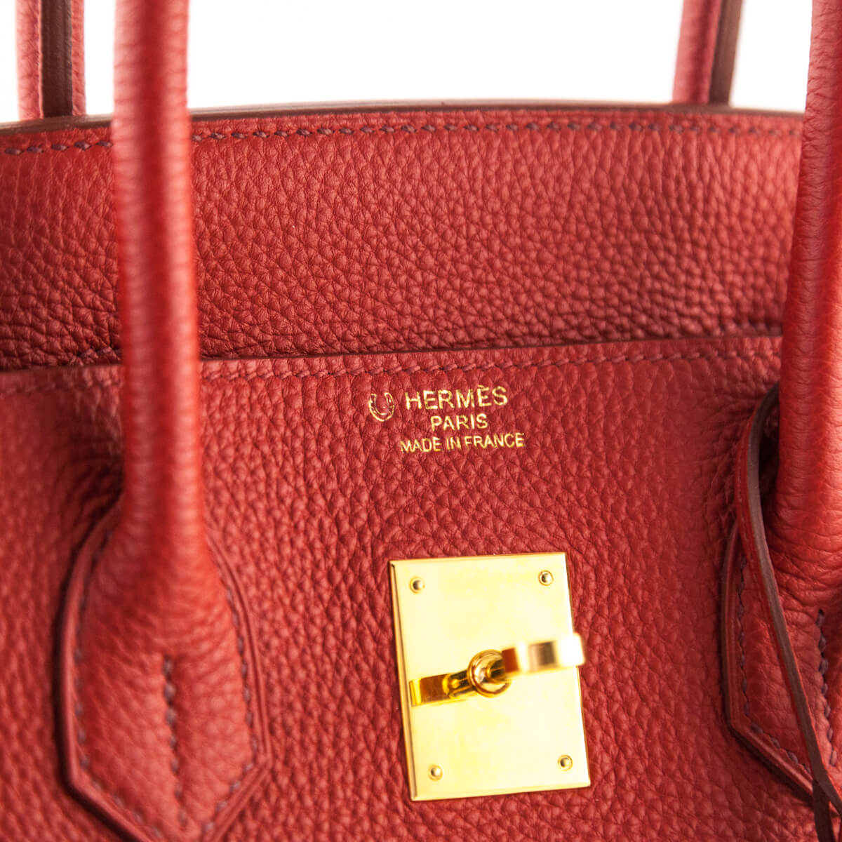 06c35749f7a ... Hermes Red Togo Birkin 35 - LOVE that BAG - Preowned Authentic Designer  Handbags ...