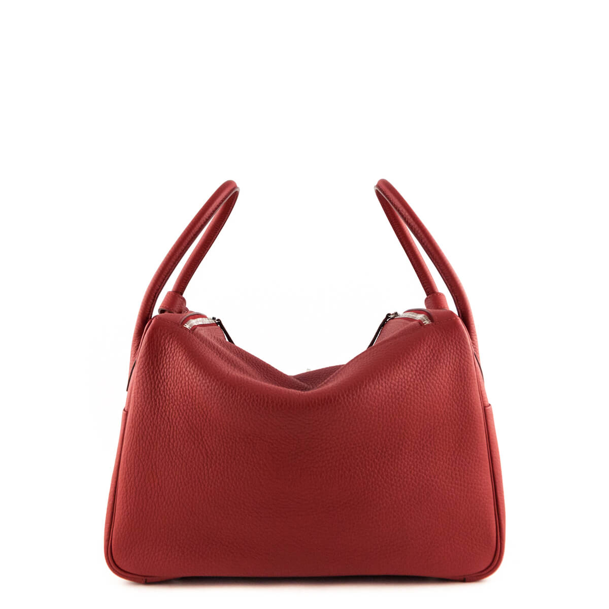 f053b9d95bc0 ... Hermes Rouge Garance Clemence Lindy 34 - LOVE that BAG - Preowned  Authentic Designer Handbags ...