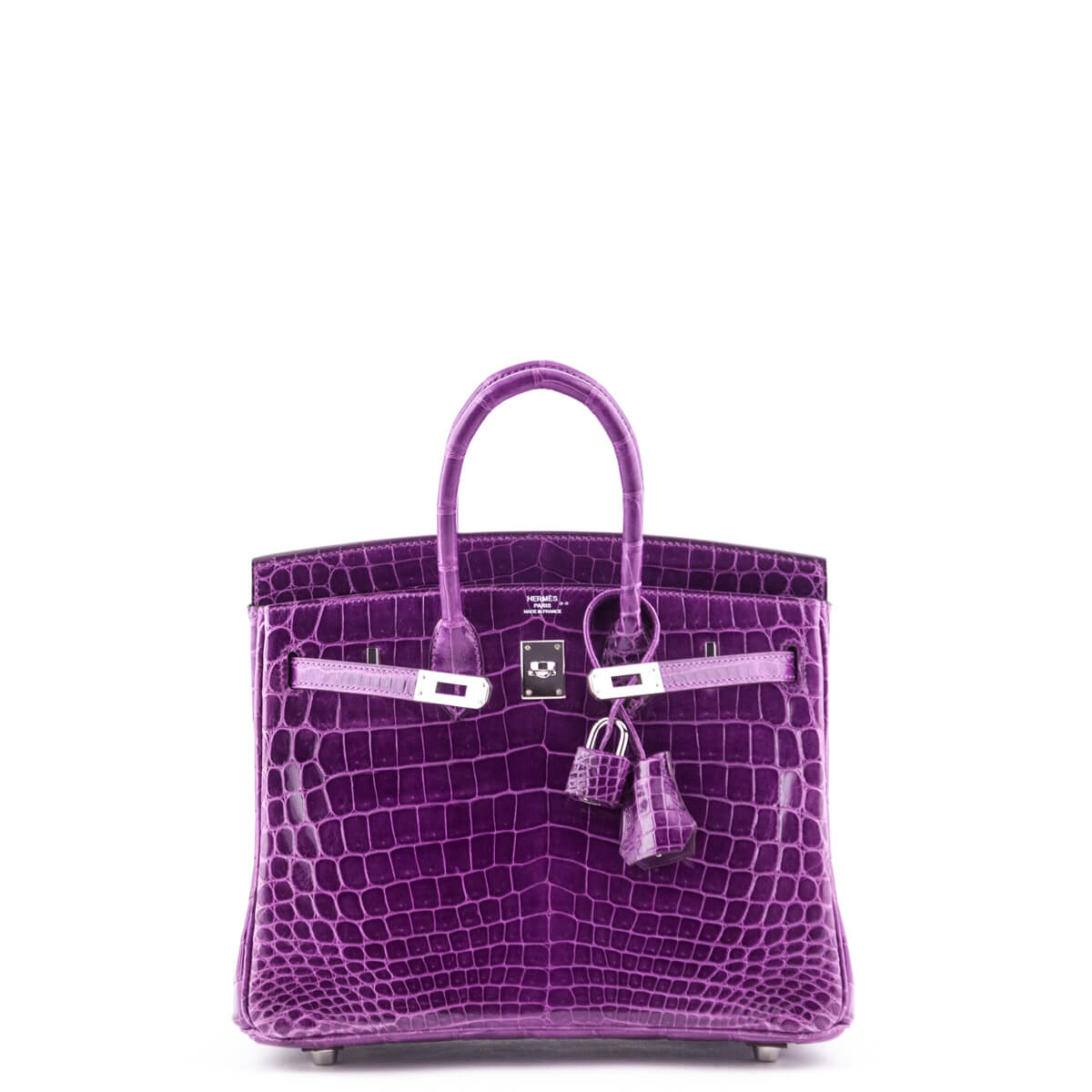 28adfcd0181e Hermes violet niloticus crocodile birkin love that bag preowned authentic  designer handbags jpg 1200x1200 Violet bags