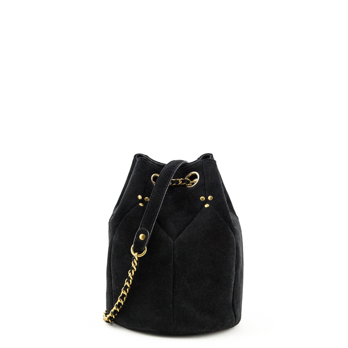 Jerome Dreyfuss Black Suede Popeye Bucket bag - LOVE that BAG - Preowned  Authentic Designer Handbags ... 5a2662b1494bf