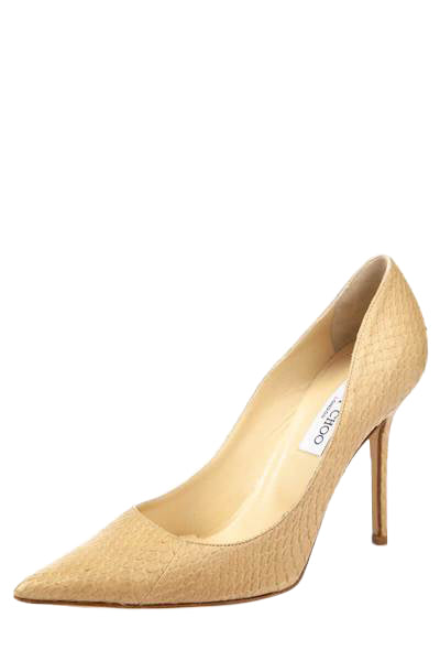newest collection watch crazy price Jimmy Choo Beige Snakeskin Pumps - Shop Jimmy Choo Canada