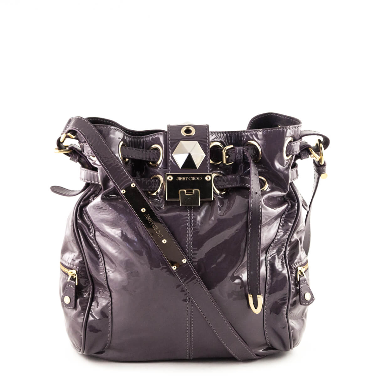 744cab0bb87 Jimmy Choo Lilac Patent Leather Ramona Bag - LOVE that BAG - Preowned  Authentic Designer Handbags ...