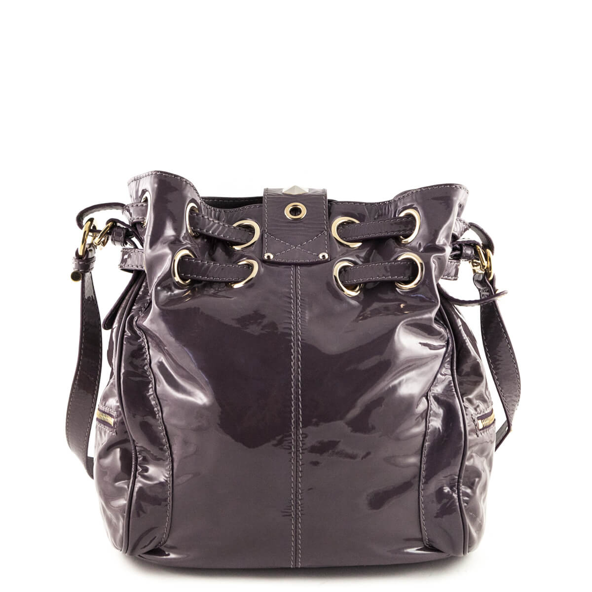 fd44c90fa7a ... Jimmy Choo Lilac Patent Leather Ramona Bag - LOVE that BAG - Preowned  Authentic Designer Handbags ...