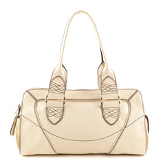 Lancel Cream Shoulder Bag - 1
