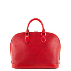 Louis Vuitton Coquelicot Epi Leather Alma PM