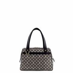 Louis Vuitton Black & Cream Monogram Mini Josephine GM