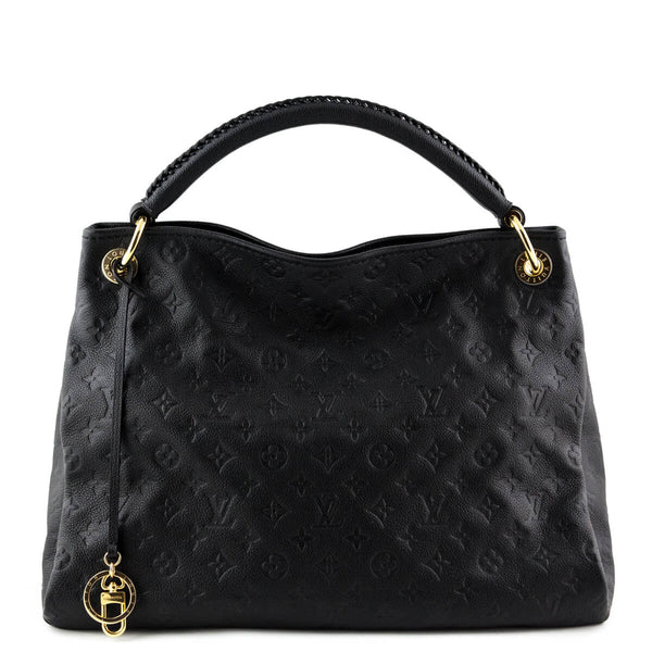 482d673fddef Louis Vuitton Black Empreinte Artsy MM - LOVE that BAG - Preowned Authentic  Designer Handbags