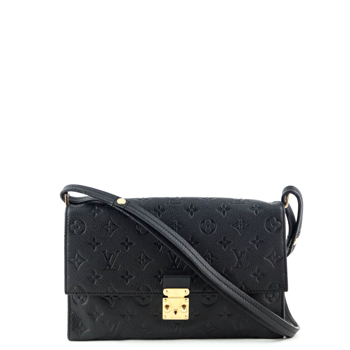 cfbb220a5d44 Louis Vuitton Black Empreinte Fascinante Bag - LOVE that BAG - Preowned  Authentic Designer Handbags ...