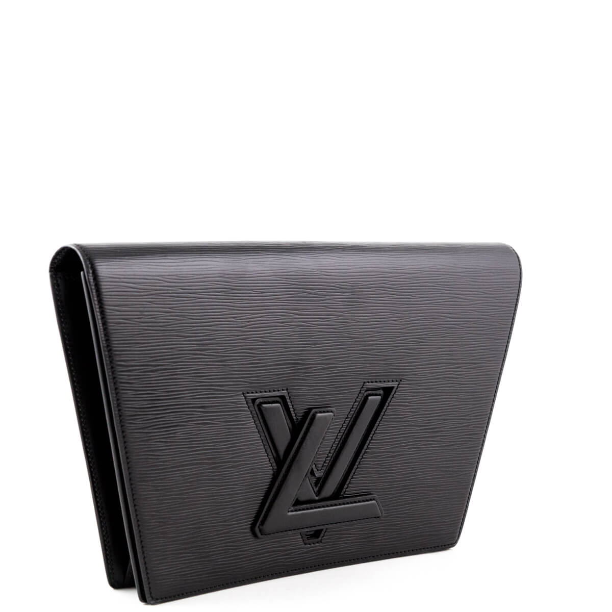 654b2bfc8fd5 ... Louis Vuitton Black Epi Large Trapeze Clutch - LOVE that BAG - Preowned  Authentic Designer Handbags ...