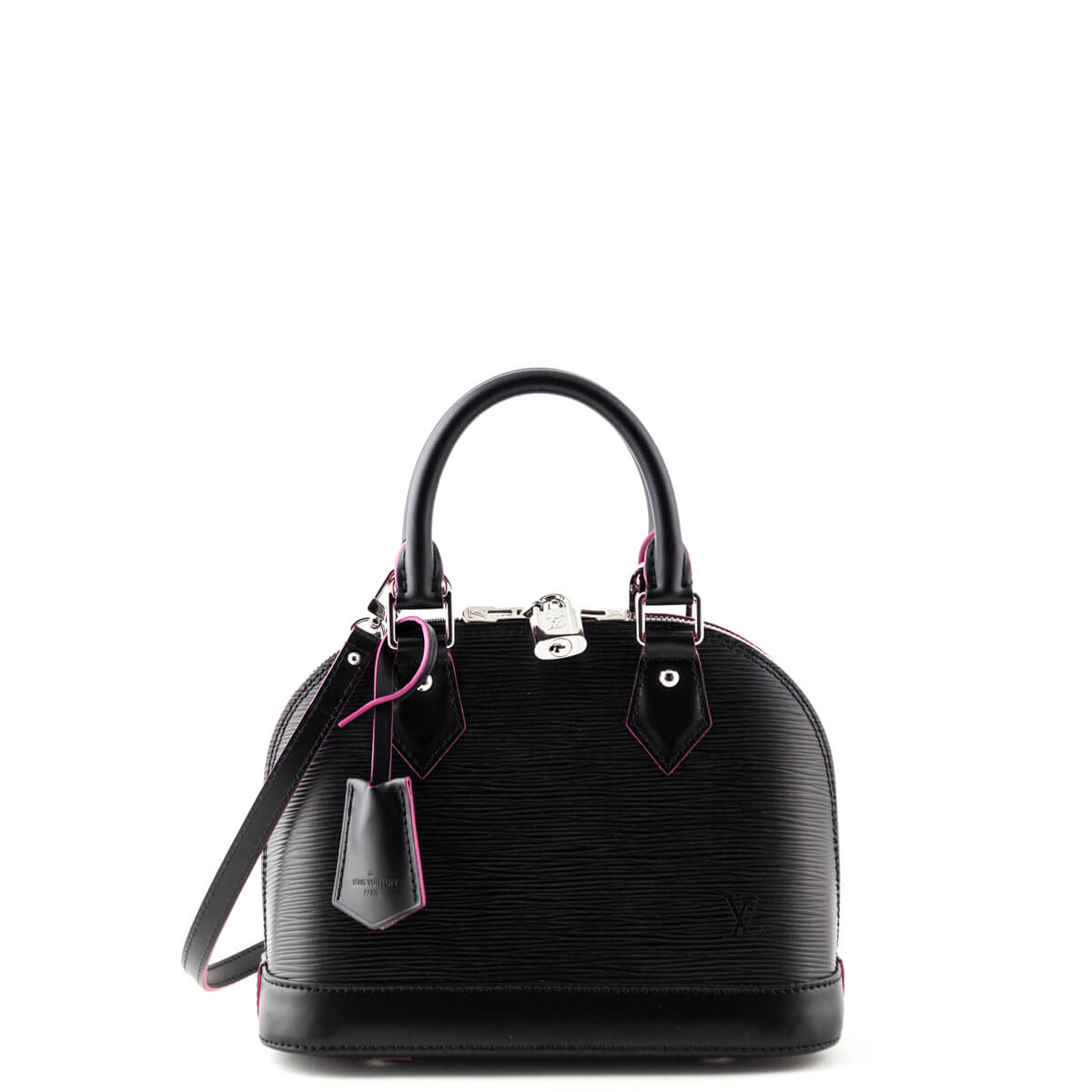 Louis Vuitton Black and Pink Epi Alma BB - LOVE that BAG - Preowned  Authentic Designer ... 03ffef23c4