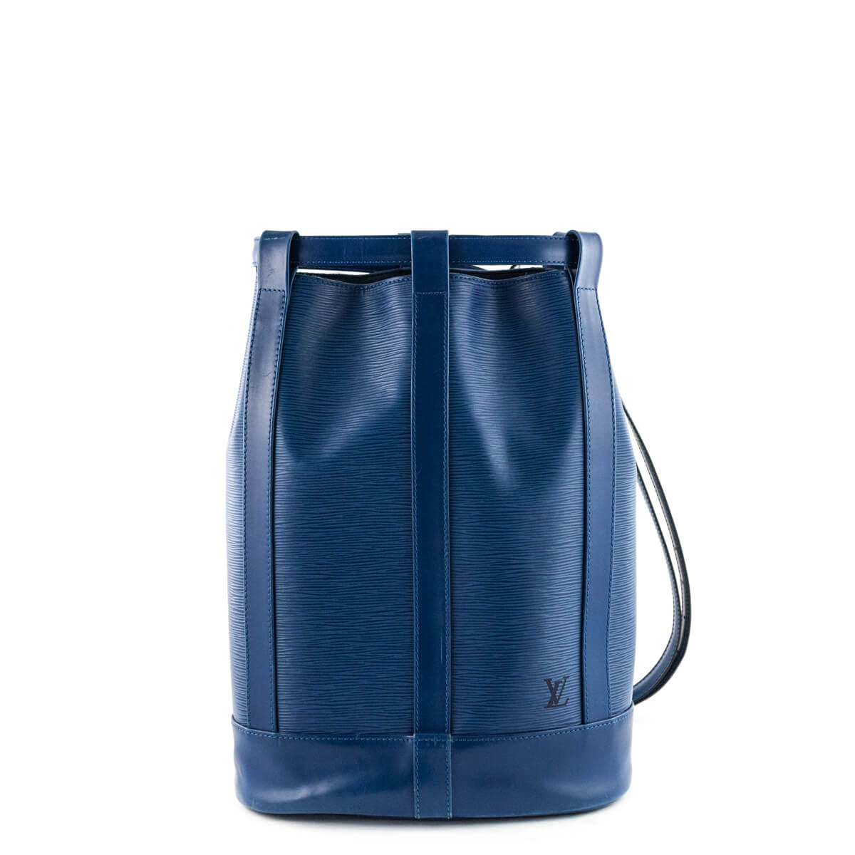 beee39ee1d6a Louis Vuitton Blue Epi Randonnee Backpack - LOVE that BAG - Preowned  Authentic Designer Handbags ...