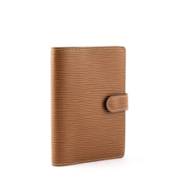 ec7316e707a9 Louis Vuitton Canelle Epi Small Ring Agenda Cover - Small Leather Goods