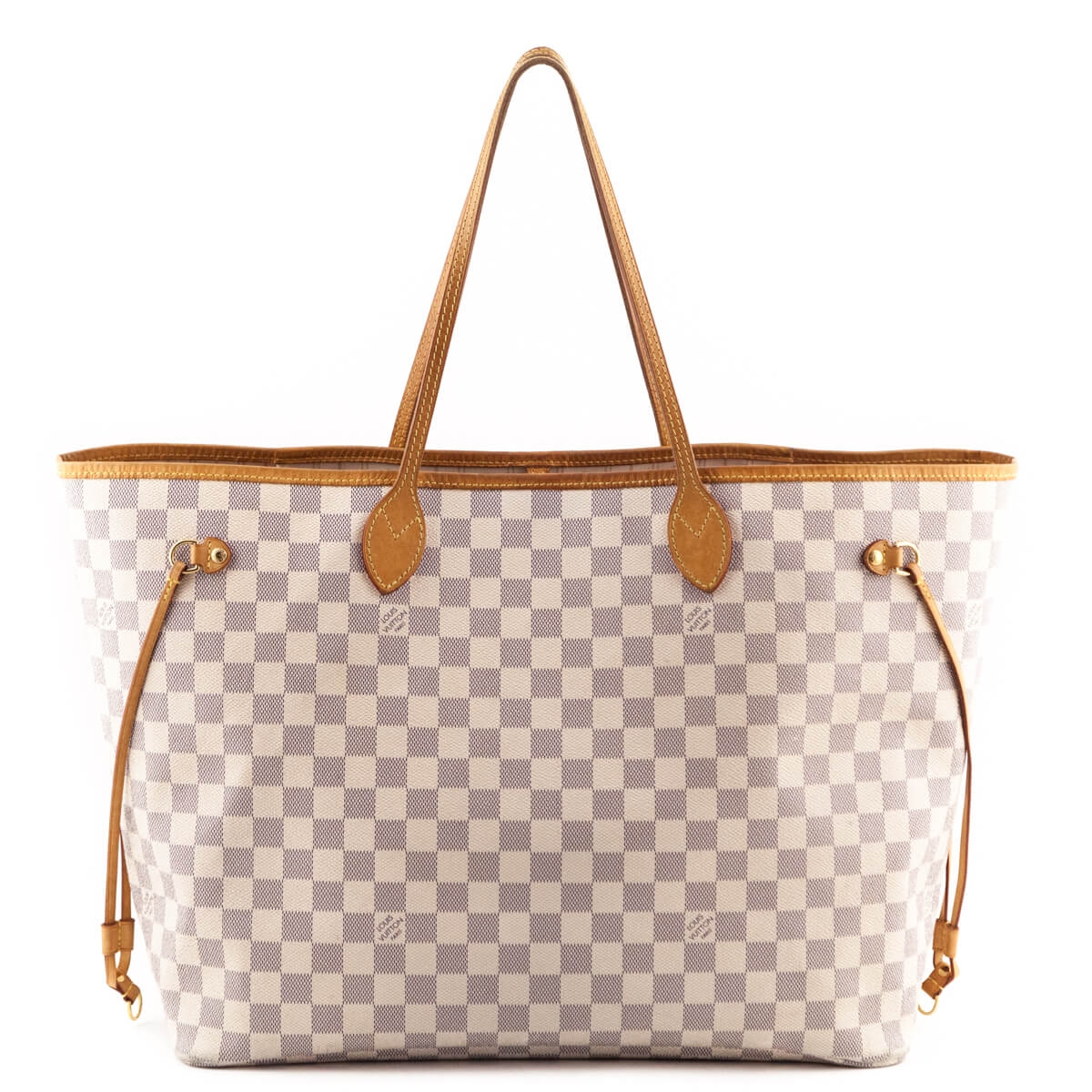 37628cfa4c Louis Vuitton Damier Azur Neverfull GM - LOVE that BAG - Preowned Authentic  Designer Handbags ...