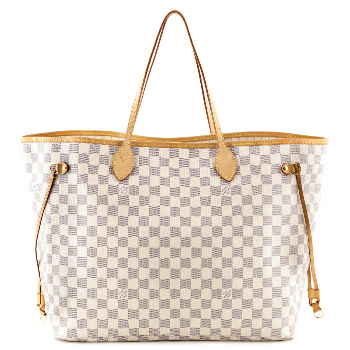 a7f0ae7c8 Louis Vuitton Damier Azur Neverfull GM - LOVE that BAG - Preowned Authentic  Designer Handbags ...