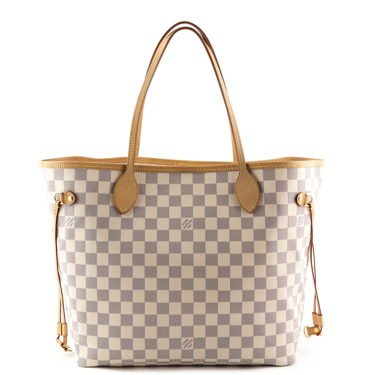 f9a4a35e1fa6 Louis Vuitton Damier Azur Neverfull MM - LOVE that BAG - Preowned Authentic  Designer Handbags ...