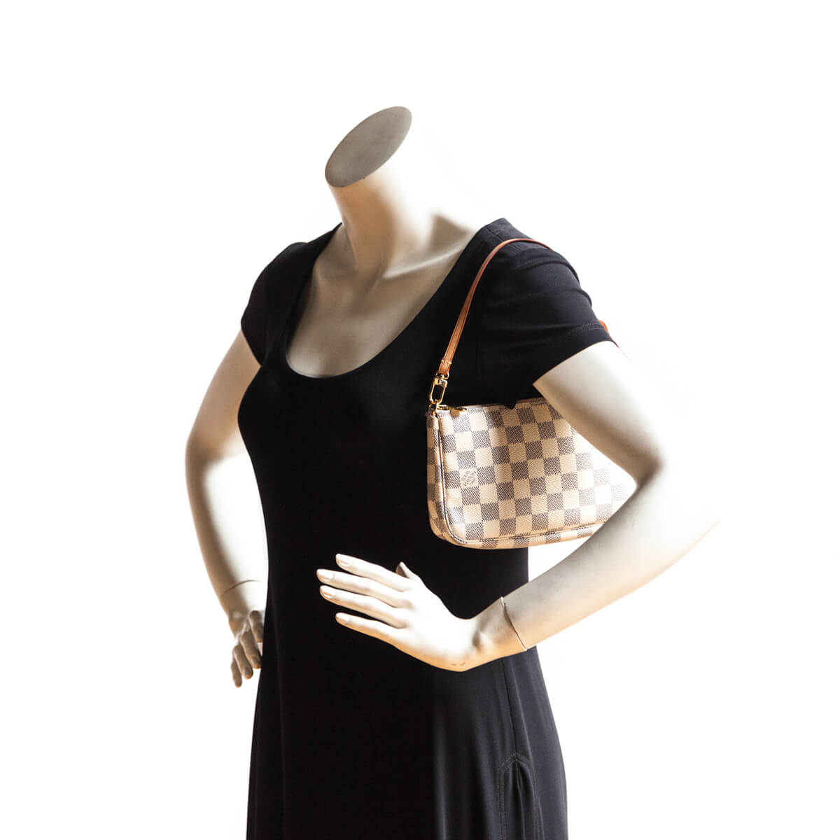 Louis Vuitton Damier Azur Pochette Accessoires - LOVE that BAG - Preowned  Authentic Designer Handbags ...