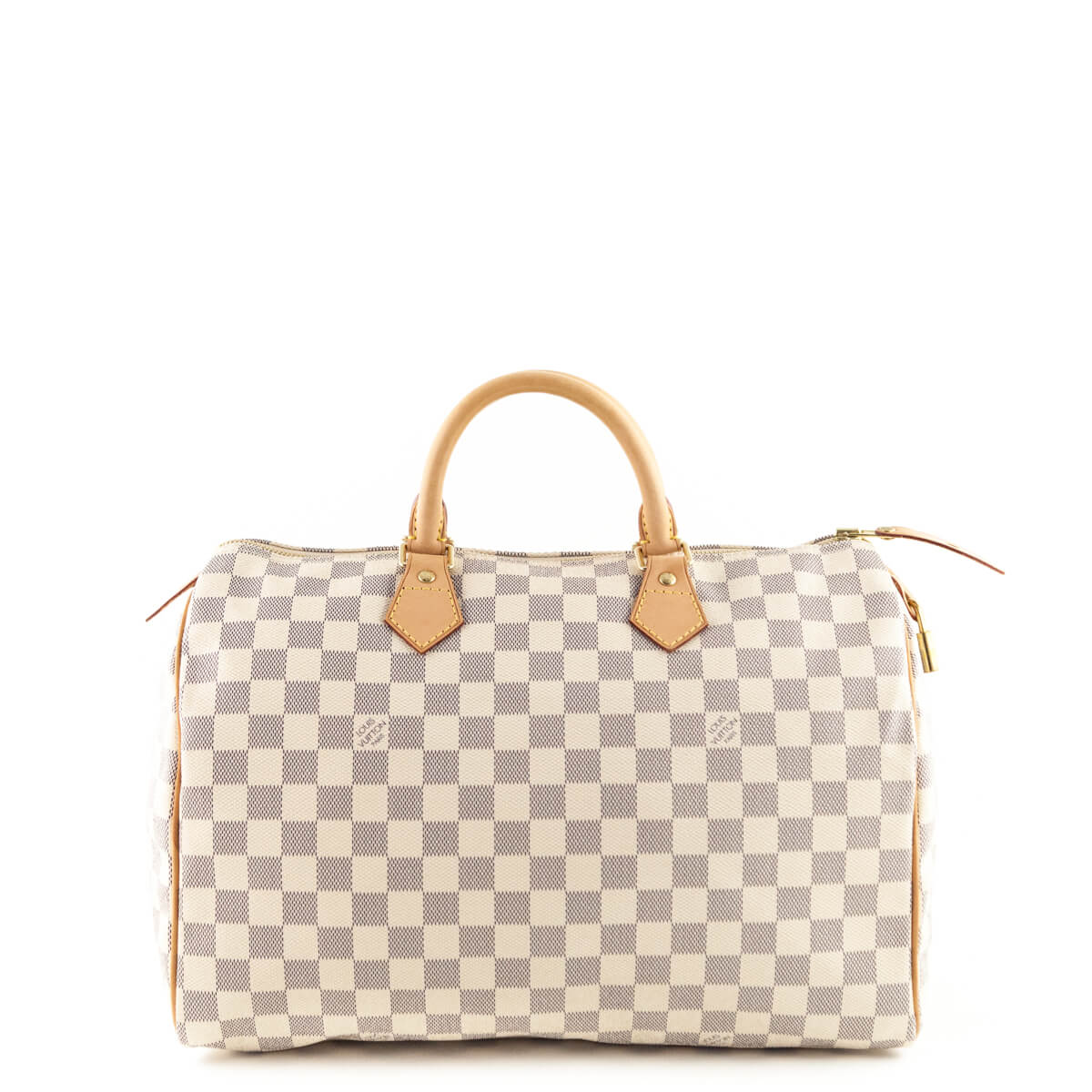 f18d4a7afa3 Louis Vuitton Damier Azur Speedy 35 - LOVE that BAG - Preowned Authentic  Designer Handbags ...