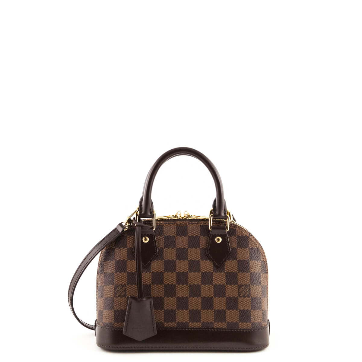 e734a475e2cf Louis Vuitton Damier Ebene Alma BB - LOVE that BAG - Preowned Authentic  Designer Handbags ...