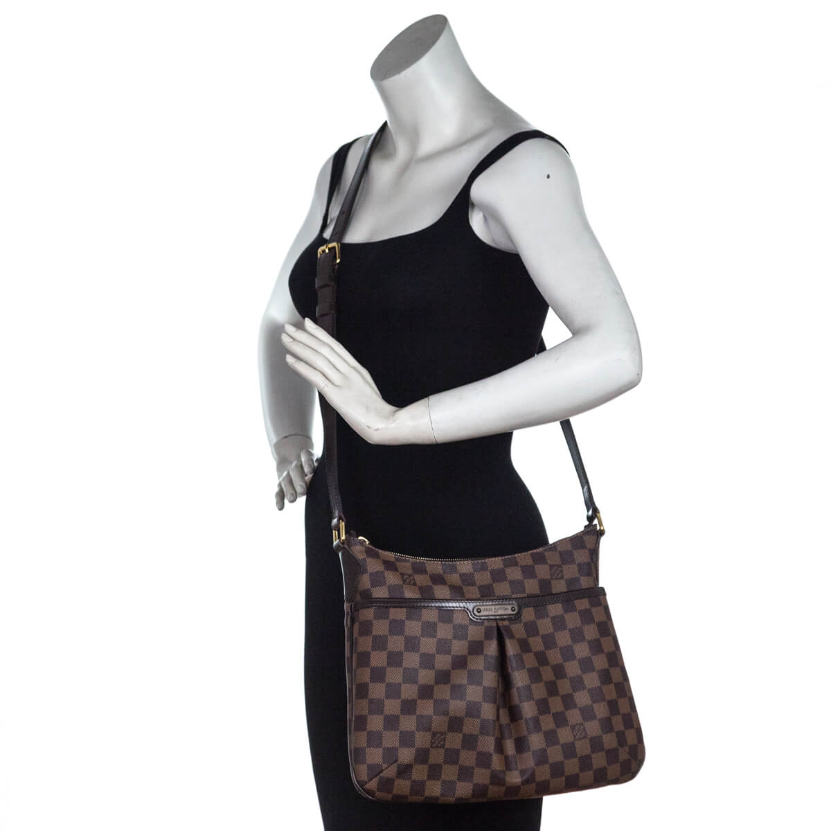 7d1f57b48c ... Louis Vuitton Damier Ebene Bloomsbury PM - LOVE that BAG - Preowned  Authentic Designer Handbags