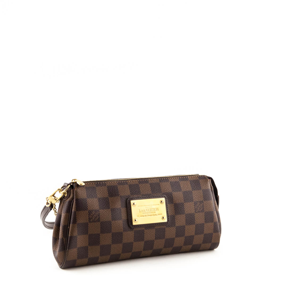 855854c3e772 ... Louis Vuitton Damier Ebene Eva Clutch - LOVE that BAG - Preowned  Authentic Designer Handbags ...