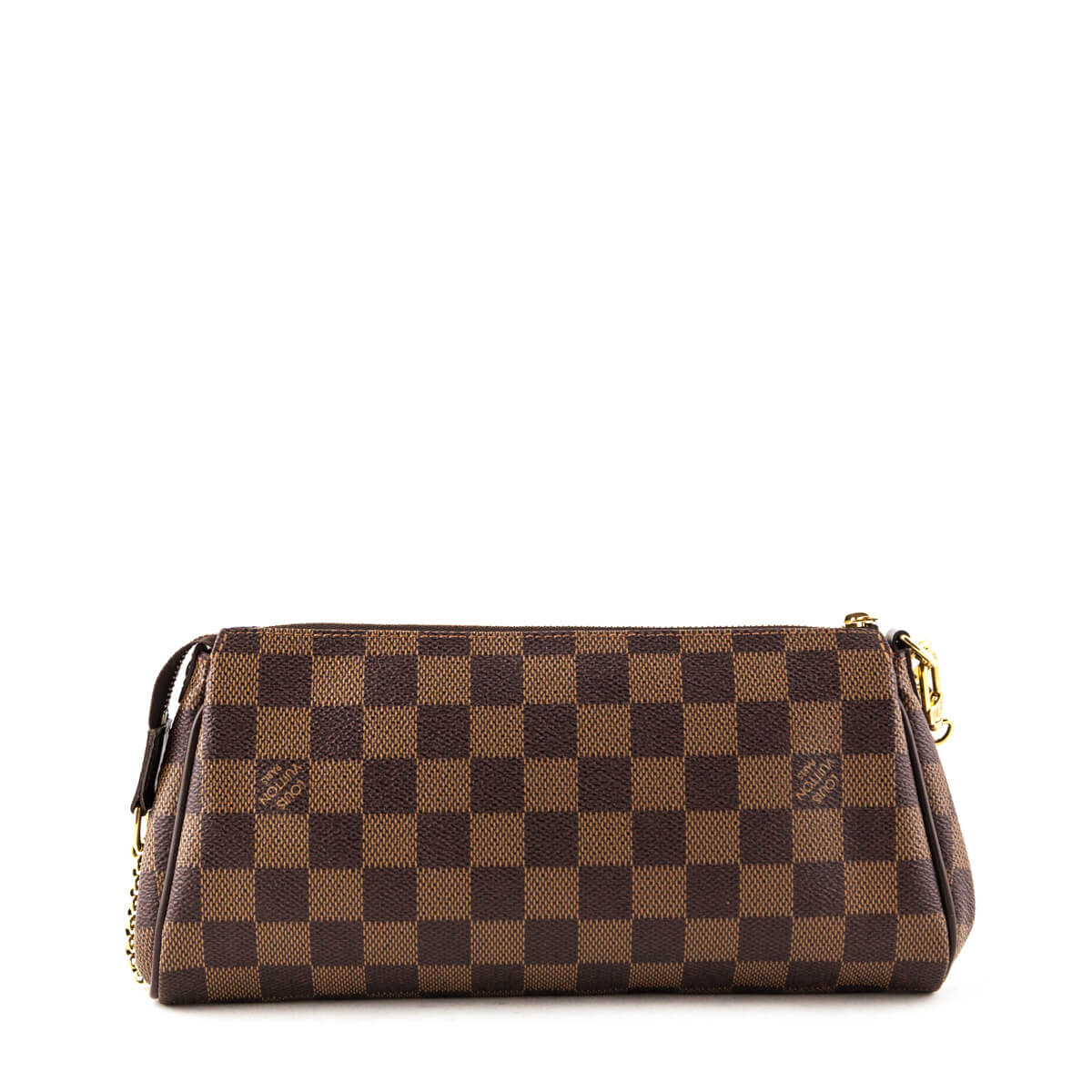 1c3d5be150bf ... Louis Vuitton Damier Ebene Eva Clutch - LOVE that BAG - Preowned  Authentic Designer Handbags ...