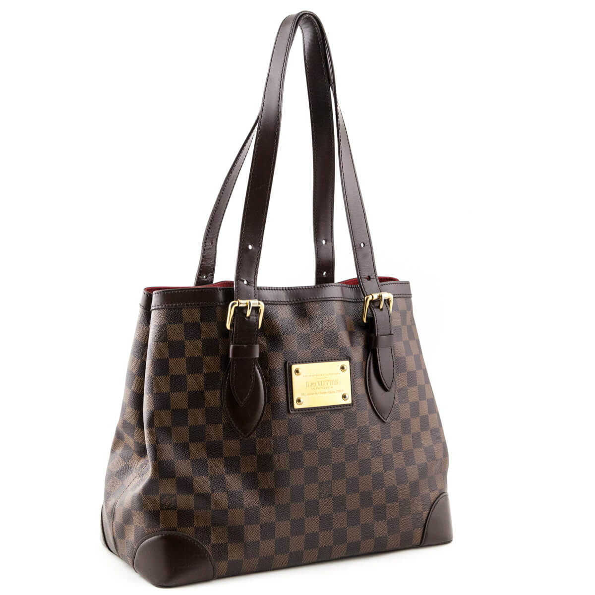 6f84f0bc7aca ... Louis Vuitton Damier Ebene Hampstead MM - LOVE that BAG - Preowned  Authentic Designer Handbags ...