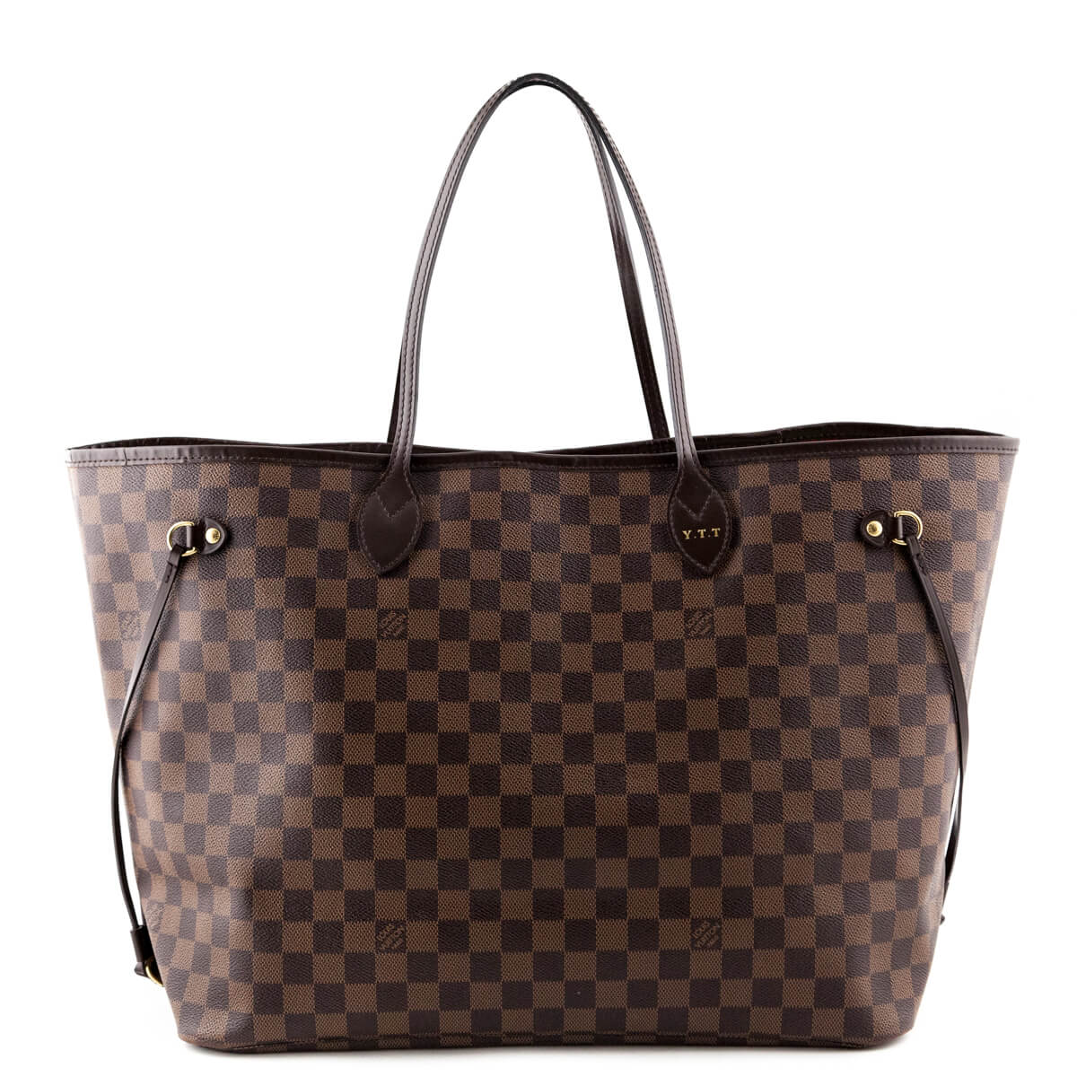 Louis Vuitton Damier Ebene Neverfull GM - LOVE that BAG - Preowned  Authentic Designer Handbags ... a0ff590e6ffd2