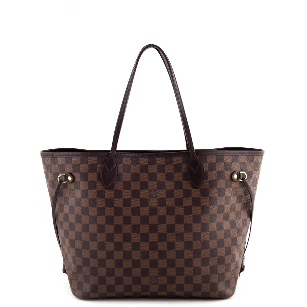 Louis Vuitton Damier Ebene Neverfull MM - LOVE that BAG - Preowned  Authentic Designer Handbags ... 68c97171cfe07