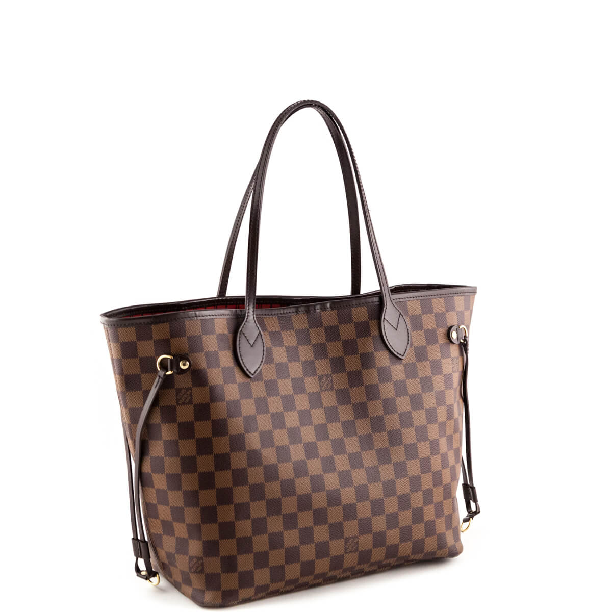 Sac Louis Vuitton Neverfull Mm : Louis vuitton damier ebene neverfull mm secondhand bags