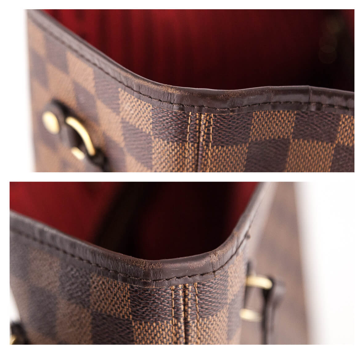... Louis Vuitton Damier Ebene Neverfull MM - LOVE that BAG - Preowned  Authentic Designer Handbags ... 3a5a4b1f65480