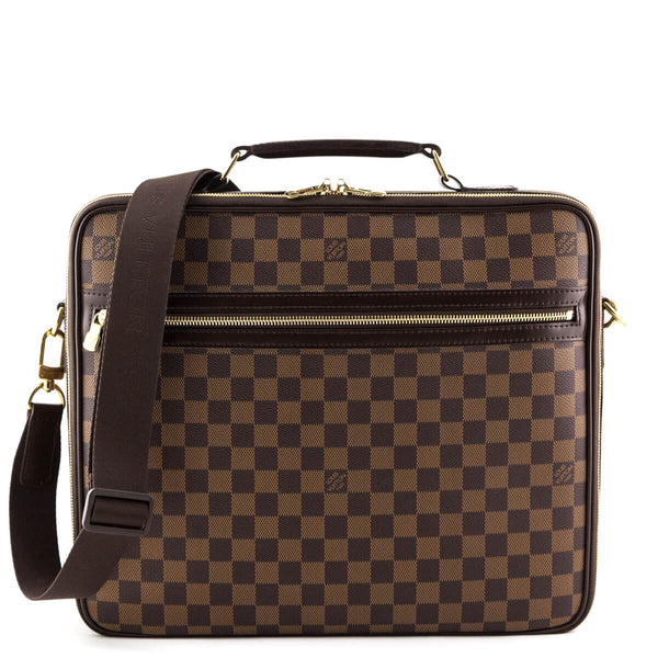 9c2eaf88d6e Louis Vuitton Damier Ebene Sabana Briefcase - LOVE that BAG - Preowned Authentic  Designer Handbags