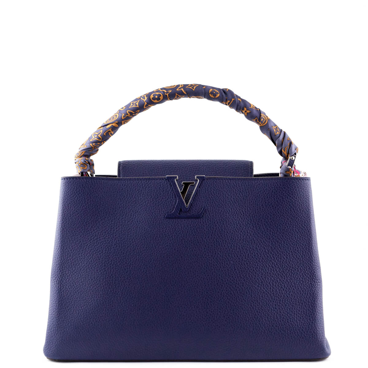 f07b774a369d Louis Vuitton Indigo Taurillon Capucines MM - LOVE that BAG - Preowned  Authentic Designer Handbags ...