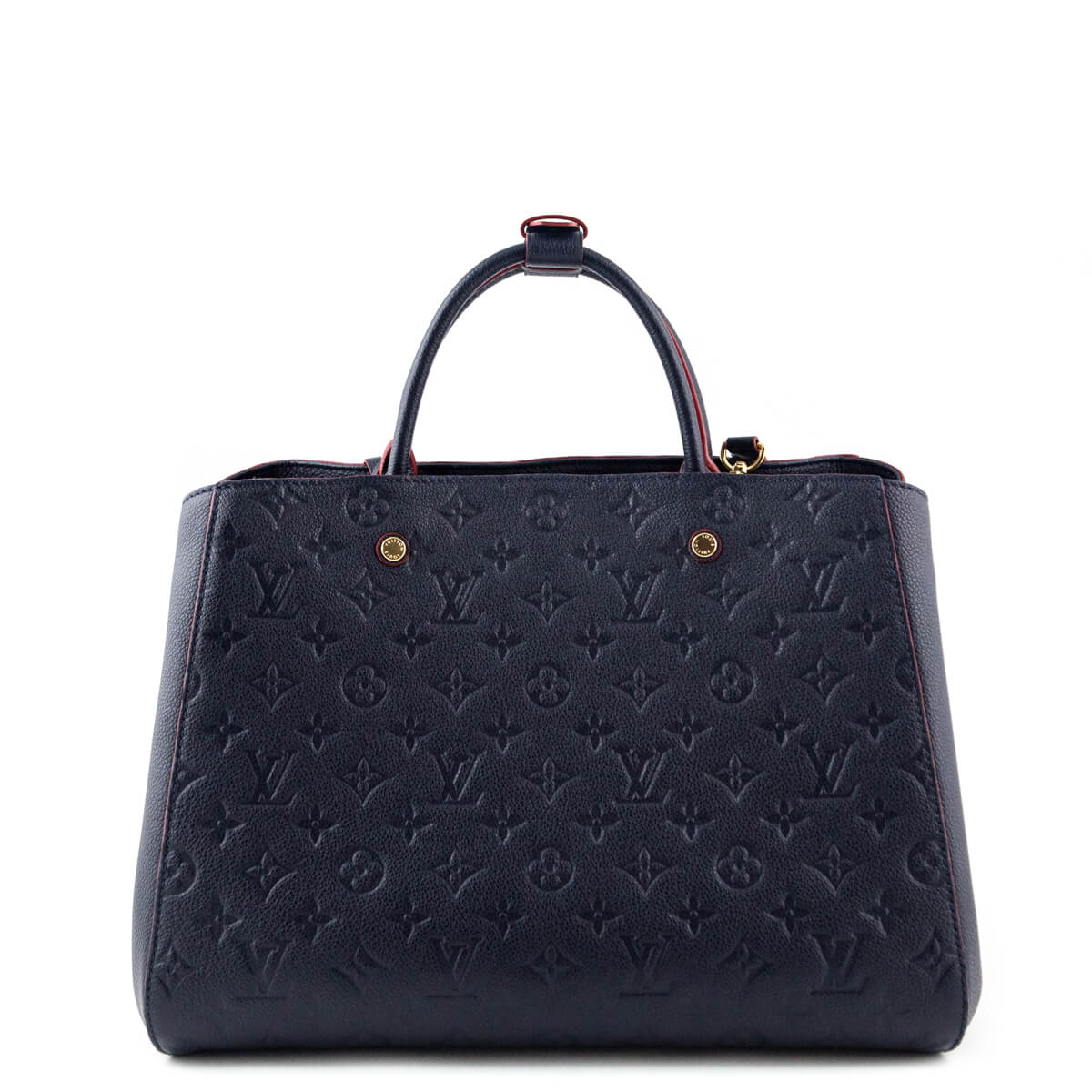 ... Louis Vuitton Marine Rouge Monogram Empreinte Montaigne GM - LOVE that  BAG - Preowned Authentic Designer ... 36ead5dc43282