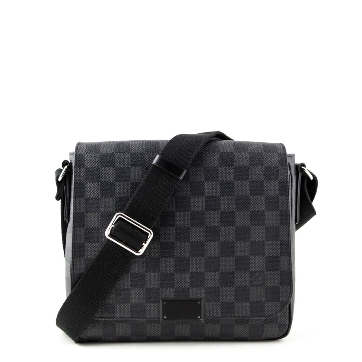 e26e8a246cc4 Louis Vuitton Men s Damier Graphite District PM - LOVE that BAG - Preowned  Authentic Designer Handbags ...