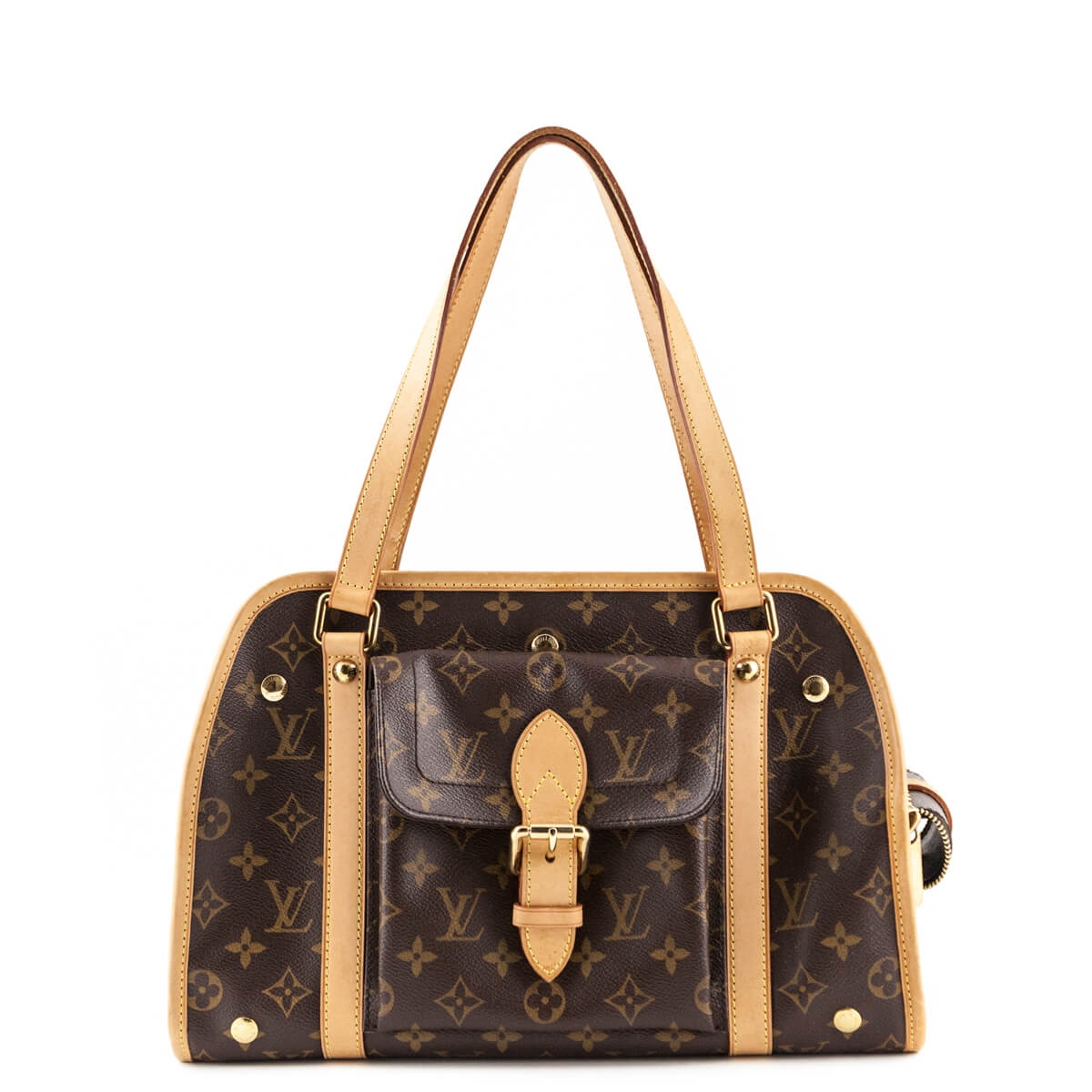 ce1618d698c4 Louis Vuitton Monogram Baxter Dog Carrier PM - LOVE that BAG - Preowned  Authentic Designer Handbags ...