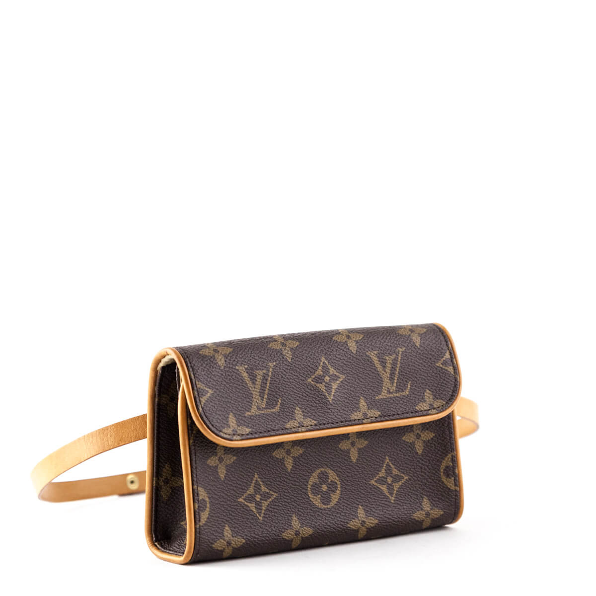 e20dc4f94fad ... Louis Vuitton Monogram Florentine Pochette Belt Bag - LOVE that BAG -  Preowned Authentic Designer Handbags ...