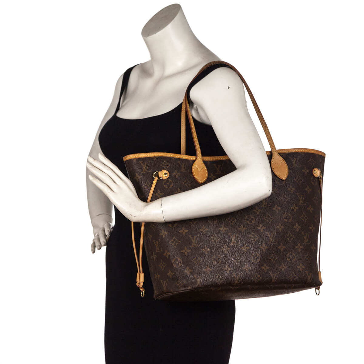 44c1278945da ... Louis Vuitton Monogram Neverfull MM - LOVE that BAG - Preowned  Authentic Designer Handbags