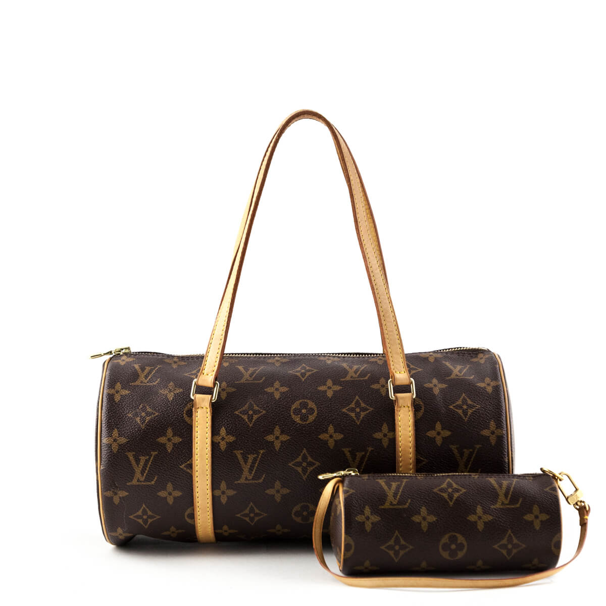 1a7ce0d8a96f Louis Vuitton Monogram Papillon 30 with Pouch - LOVE that BAG - Preowned  Authentic Designer Handbags ...