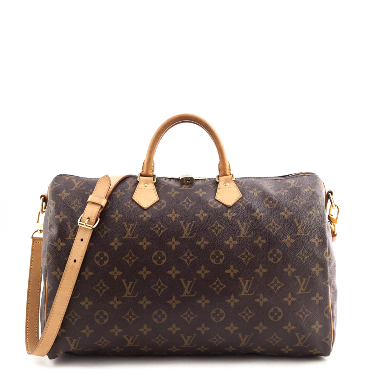 dd6a293aca07 Louis Vuitton Monogram Speedy 40 Bandouliere - LOVE that BAG - Preowned  Authentic Designer Handbags ...