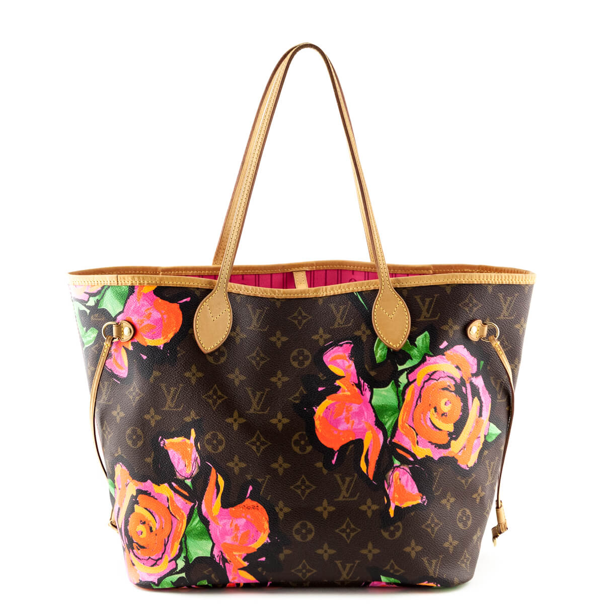 Louis Vuitton Monogram Stephen Sprouse Roses Neverfull MM - LOVE that BAG -  Preowned Authentic Designer ... 713872584ad27