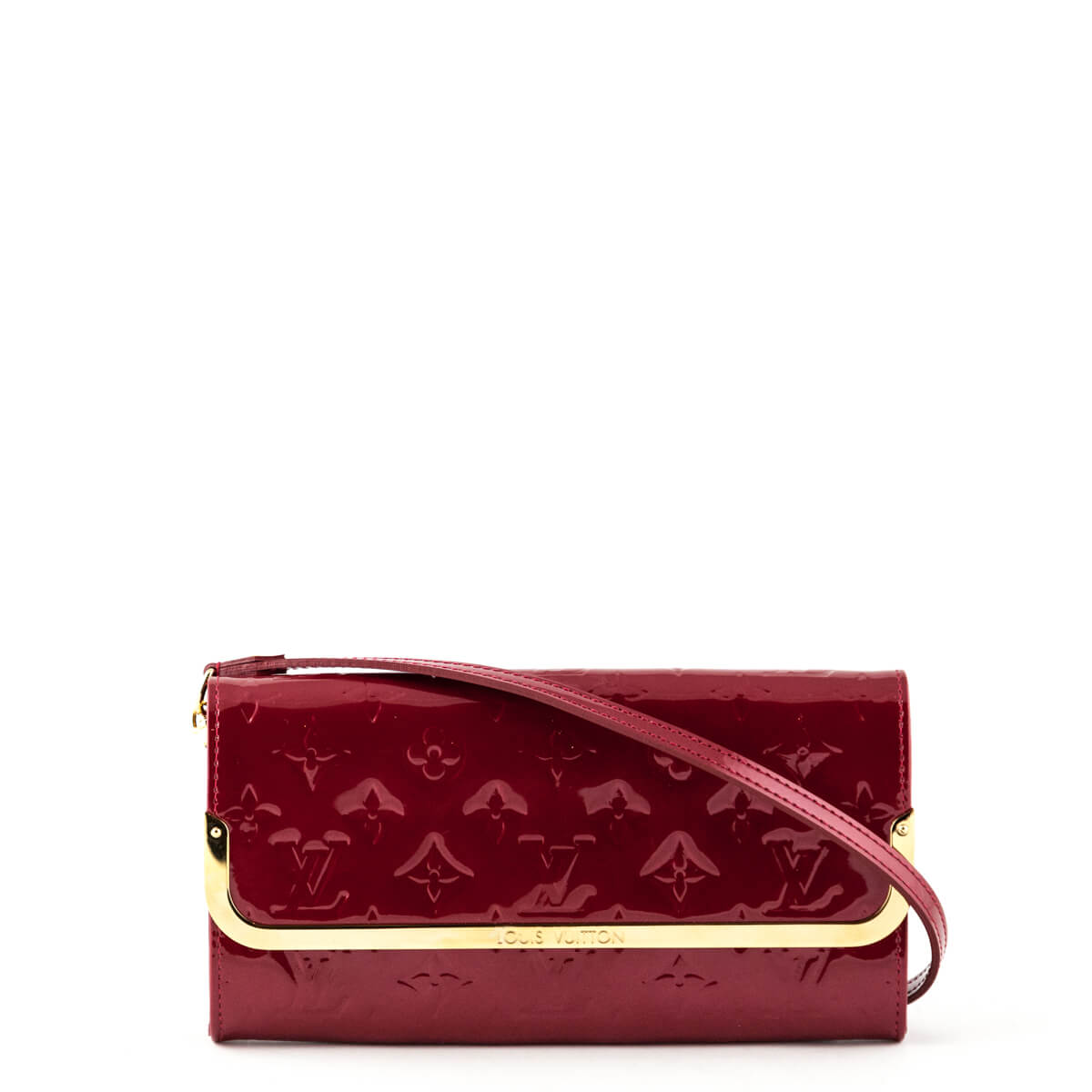 a9ed8cbbb1f4 Louis Vuitton Pomme D Amour Monogram Vernis Rossmore MM - LOVE that BAG -  Preowned ...