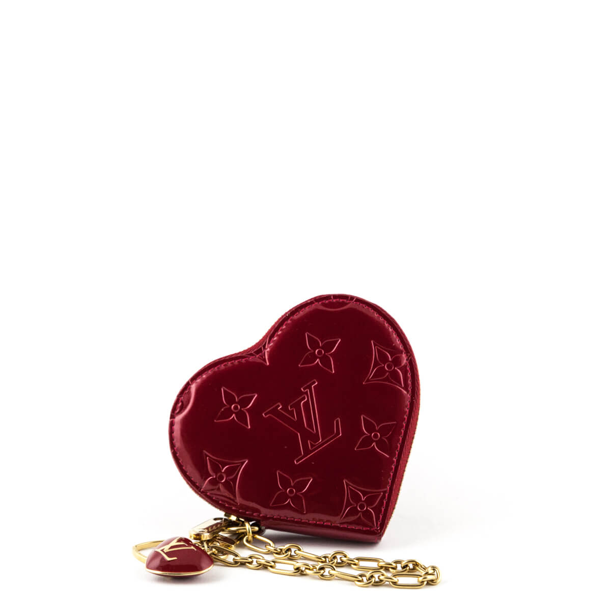 f64336626 Louis Vuitton Pomme d'Amour Empreinte Vernis Heart Coin Purse - LOVE that  BAG ...