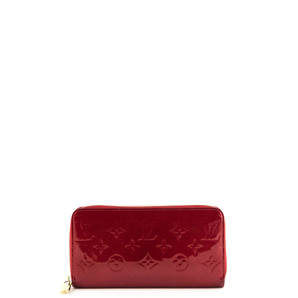 Louis Vuitton Red Empreinte Vernis Zippy Wallet - LOVE that BAG - Preowned  Authentic Designer Handbags ... 587a3d51b