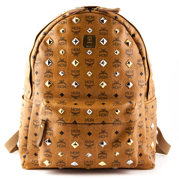 c6e7339b259f MCM Cognac Visetos Large Stark Backpack - LOVE that BAG - Preowned  Authentic Designer Handbags