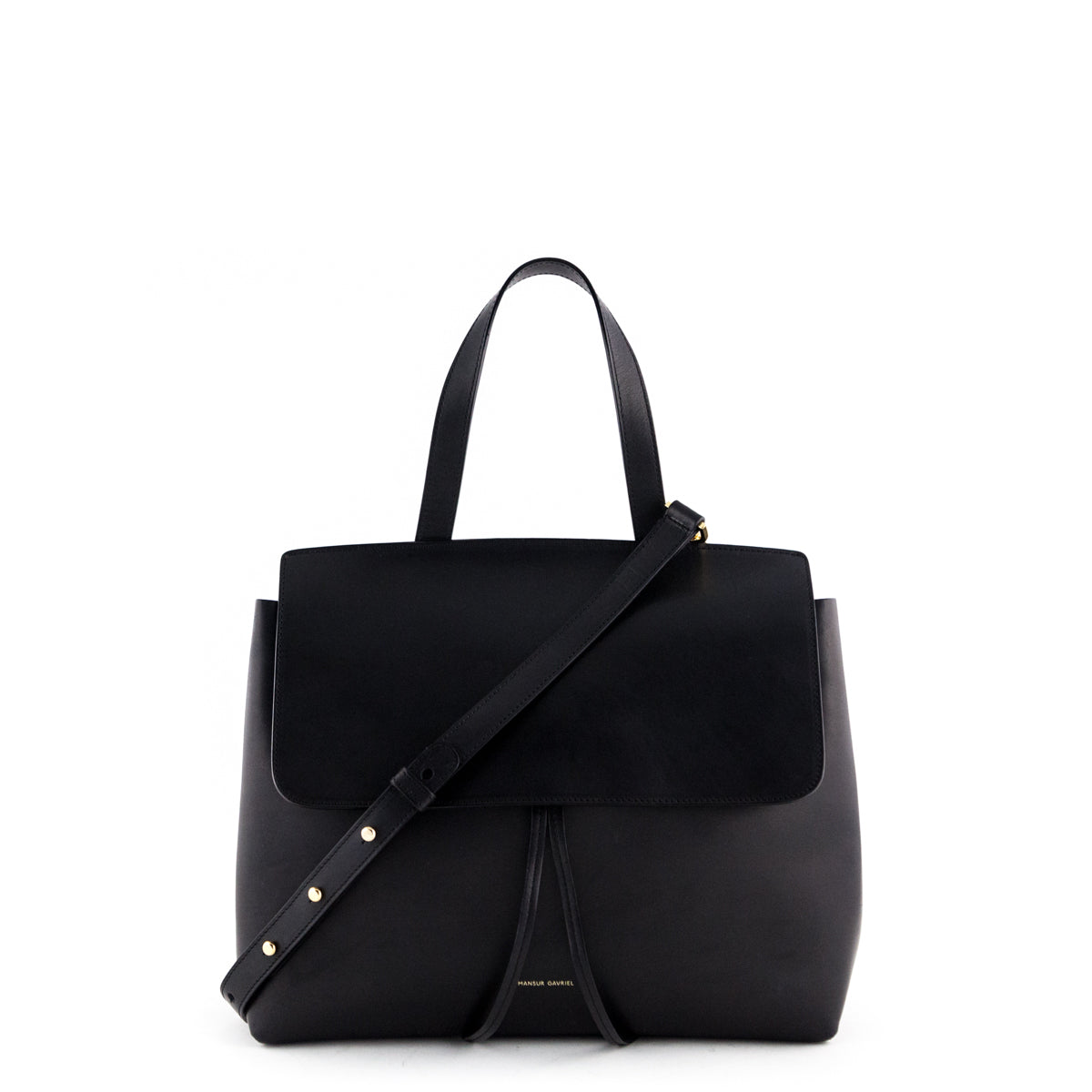 a92a8358 Mansur Gavriel Black Medium Lady Bag - LOVE that BAG - Preowned Authentic Designer  Handbags ...
