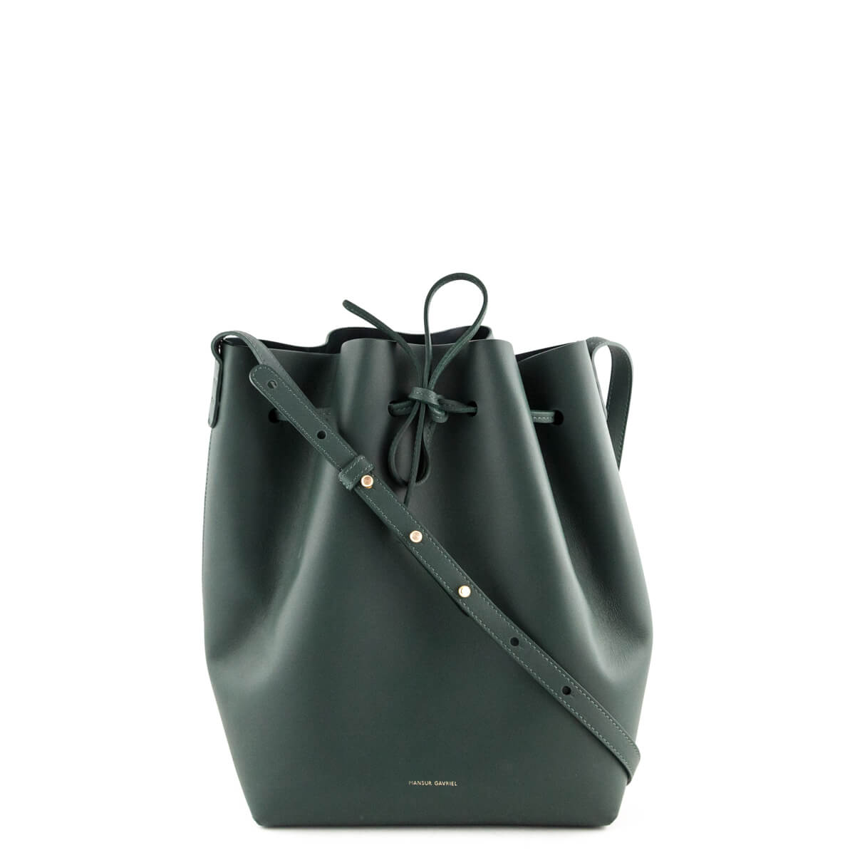 552c7dee8c3f0 Mansur Gavriel Moss Calfskin Large Bucket Bag - LOVE that BAG - Preowned  Authentic Designer Handbags ...