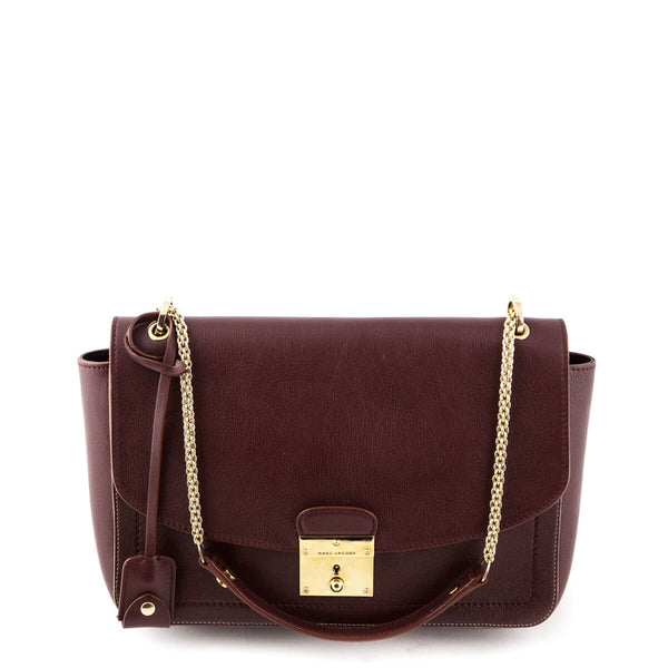 8787a05886 Marc Jacobs Chestnut Polly Shoulder Bag - LOVE that BAG - Preowned Authentic  Designer Handbags