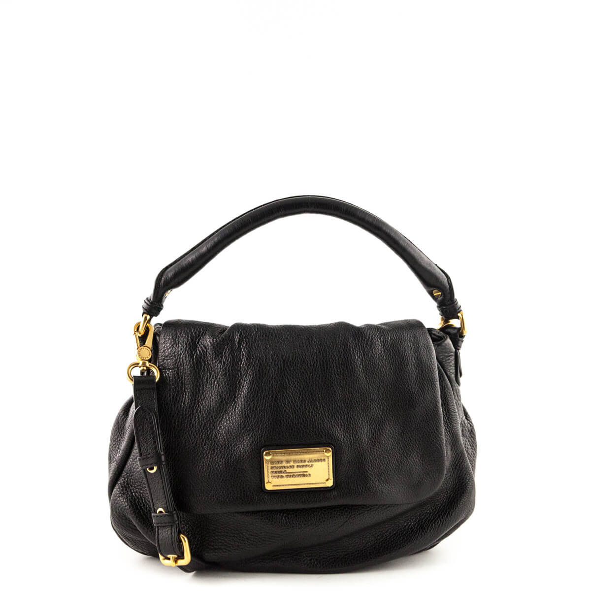 6476a1c136b8 Marc by Marc Jacobs Black Lil Ukita - LOVE that BAG - Preowned Authentic  Designer Handbags ...