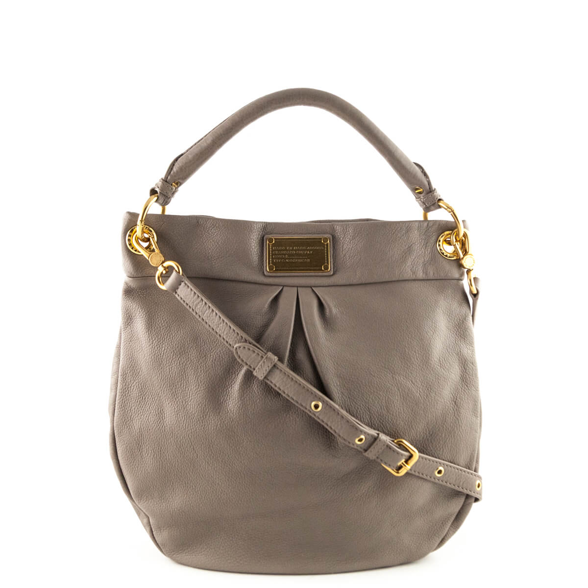 77f7ff709d16 Marc by Marc Jacobs Zinc Classic Q Hillier Hobo - LOVE that BAG - Preowned  Authentic ...